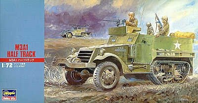 US M3A1 Half Track Personnel Carrier (1:72) - Hasegawa