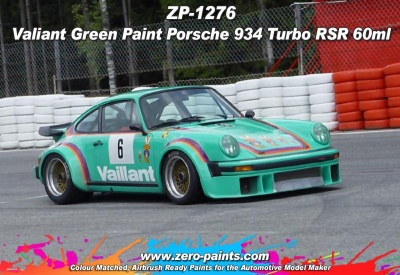 Vaillant Green - Porsche 934 Turbo RSR - Zero Paints