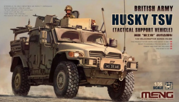 British Army HUSKY TSV (Tactical Support Vehicle) 1:35 - Meng