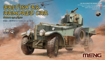 British Rolls-Royce Armoured Car 1:35 Pattern 1914/1920 - Meng