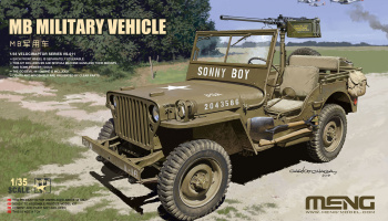 MB military vehicle 1:35 - Meng