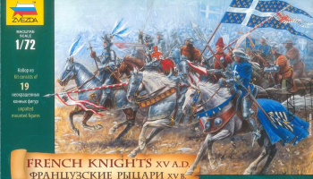 Wargames (AoB) figurky 8036 - French Knights (re-release) (1:72)