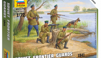 Wargames (WWII) figurky 6144 - Soviet Frontier Guards (1:72)