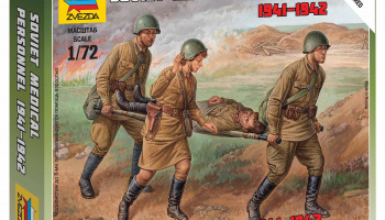 Wargames (WWII) figurky 6152 - Soviet Medical Personnel 1941-42 (1:72)
