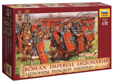 Wargames (AoB) figurky 8043 - Roman Imperial Infantry I BC - II AD (1:72)