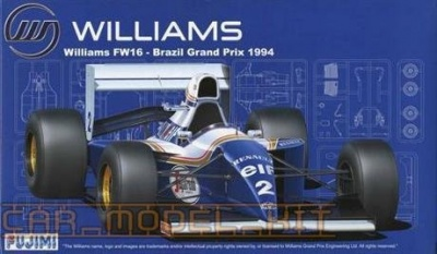 Williams FW16 Brazil GP - Fujimi