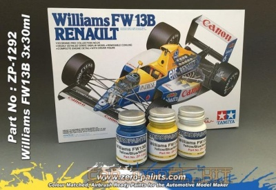 Williams Renault FW13B - 3x30ml - Zero Paints