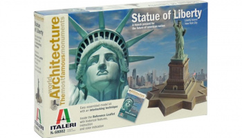World of Architecture - THE STATUE OF LIBERTY (29,0 cm) - Italeri