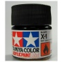 X-1 Black Acrylic Paint Mini X1 - Tamiya