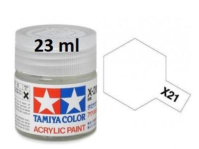 X-21 Flat Base Acrylic Paint 23ml X21 - Tamiya