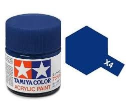 X-4  Blue Acrylic Paint Mini X4 - Tamiya