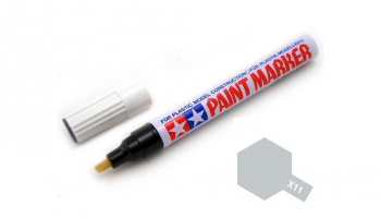 X-11 Chrome Silver Paint Marker - Tamiya