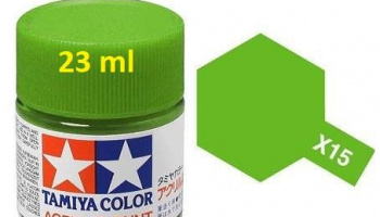 X-15 Light Green 23ml - Tamiya