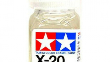 X-20 Thinner 10ml Enamel Paint X20 - Tamiya