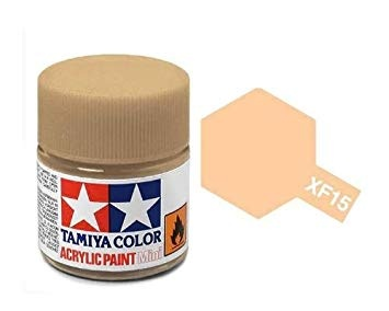 XF-15 Flat Flesh Acrylic Paint Mini XF15 - Tamiya