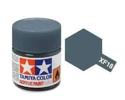 XF-18  Medium Blue Acrylic Paint Mini XF18 - Tamiya