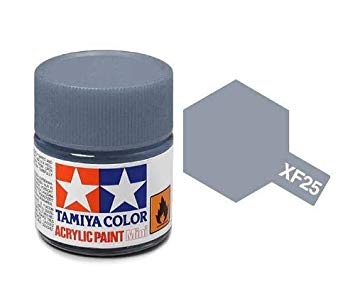 XF-25  Light Sea Grey Acrylic Paint Mini XF25 - Tamiya