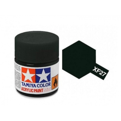 XF-27  Black Green Acrylic Paint Mini XF27 - Tamiya