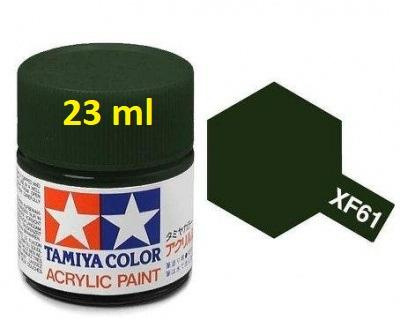 XF-61 Dark Green Acrylic Paint 23ml XF61 - Tamiya