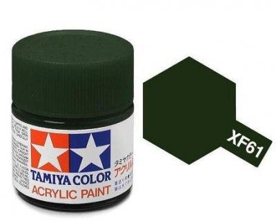 XF-61 Dark Green Acrylic Paint Mini XF61 - Tamiya