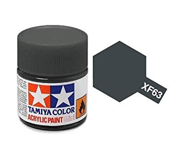 XF-63  German Grey Acrylic Paint Mini XF63 - Tamiya