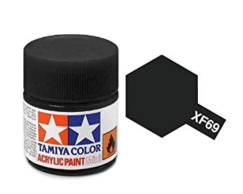 XF-69 NATO Black Acrylic Paint Mini XF69 - Tamiya