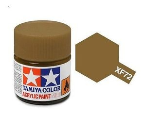 XF-72 Brown Acrylic Paint Mini XF72 - Tamiya