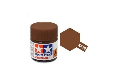XF-79  Linoleum Deck Brown Acrylic Paint Mini XF79 - Tamiya