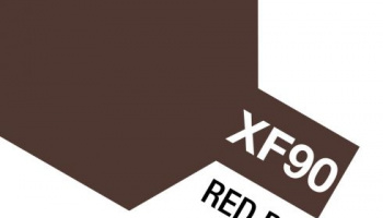 XF-90 Red Brown 2 Acrylic Paint Mini XF90 - Tamiya