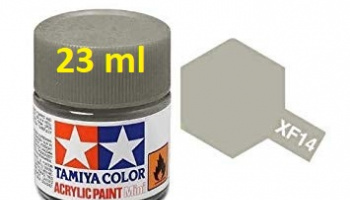 XF-14 J.A. Grey Acrylic Paint 23ml XF14 - Tamiya