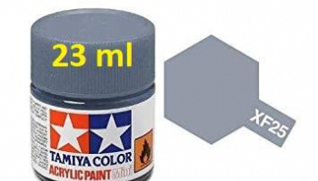 XF-25 Light Sea Grey Acrylic Paint 23ml XF25 - Tamiya