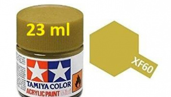 XF-60 Dark Yellow 23ml - Tamiya