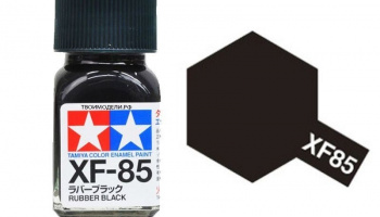 XF-85 Rubber Black Enamel Paint XF85 - Tamiya
