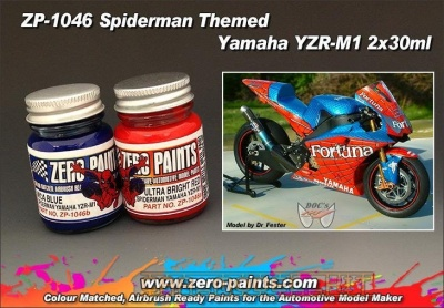 Yamaha YZR-M1 - Spiderman Themed - Zero Paints
