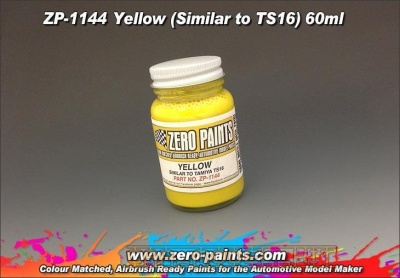 Yellow (Similar to TS16) - Zero Paints
