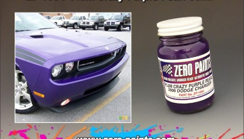 Plum Crazy Purple Pearl 60ml - Zero Paints