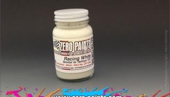 Racing White Paint (Light Cream) - Similar to TS7 - Zero Paints