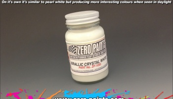 Xirallic Crystal White - Zero Paints