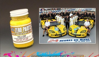 Yellow Similar to Corvettes C5R-C6R - Zero Paints