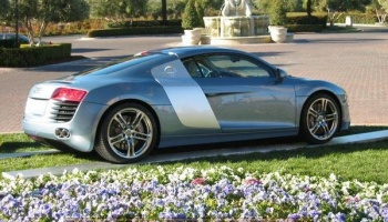 Audi R8 - Jet Blue - Zero Paints