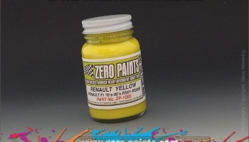 Renault RS01-RE20 F1 - Yellow - Zero Paints