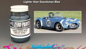 Cobra Viking Blue, Colour Matched Paints - Zero Paints
