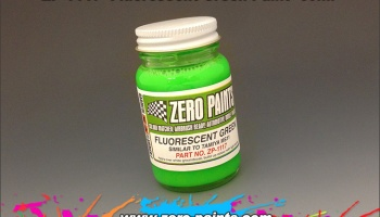 Fluorescent Green - Zero Paints