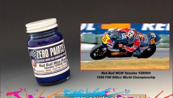 Yamaha YZR500 1999 (Red Bull) - Mica Blue - Zero Paints