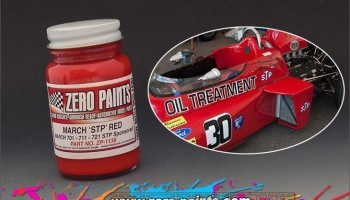 March F1 - Red (STP Sponsored) - Zero Paints