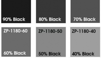Grey Basecoat Shades-Colour Shade 40% Black - Zero Paints