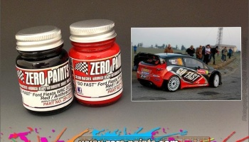 "Ford Fiesta WRC 2012 ""Go Fast"" (2x30ml) - Zero Paints"