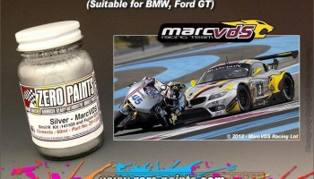 Marc VDS Racing Silver (60ml) - Zero Paints