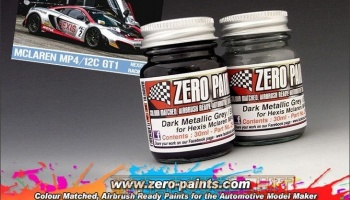 Hexis Racing 2012 McLaren MP4/12C GT1 (2x30ml) - Zero Paints