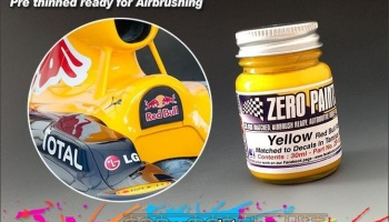 Yellow for Red Bull RB6 2010 (30ml) - Zero Paints